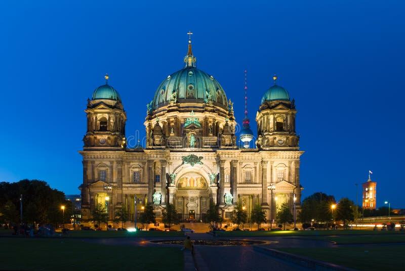 柏林大教堂或柏林大教堂在德国 免版税库存图片