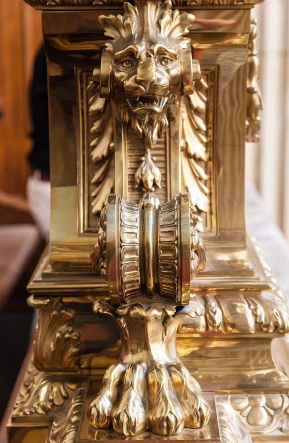 柏林大教堂狮子 库存图片