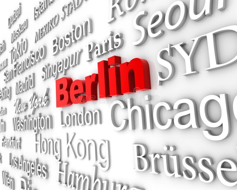 柏林大都会 向量例证