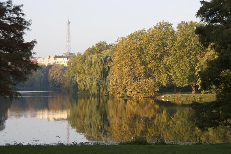 柏林湖 库存图片