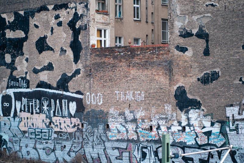 柏林破墙 免版税库存照片