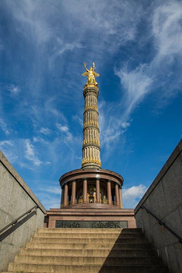 柏林胜利专栏, Siegessaule 免版税图库摄影