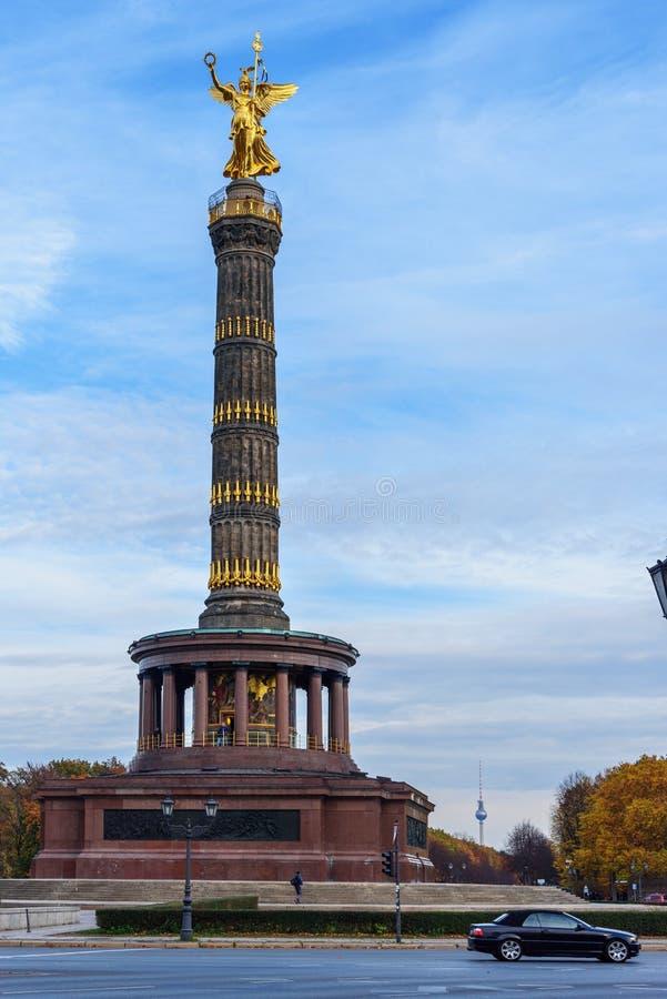 柏林胜利专栏 ?? 免版税图库摄影