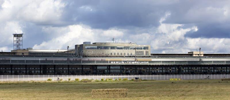柏林藤珀尔霍夫机场 库存照片