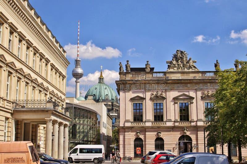 柏林视图 免版税库存图片