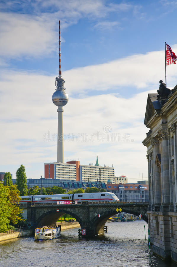 柏林运输 库存照片