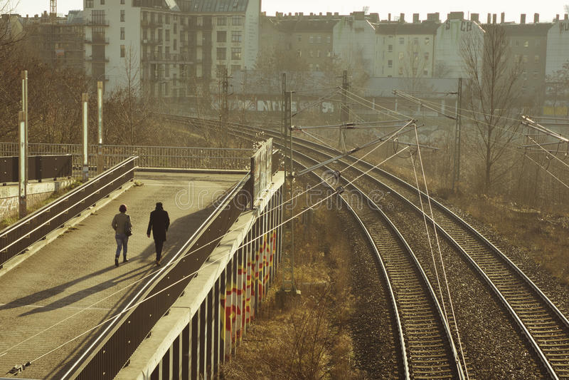 柏林,婚姻 库存照片