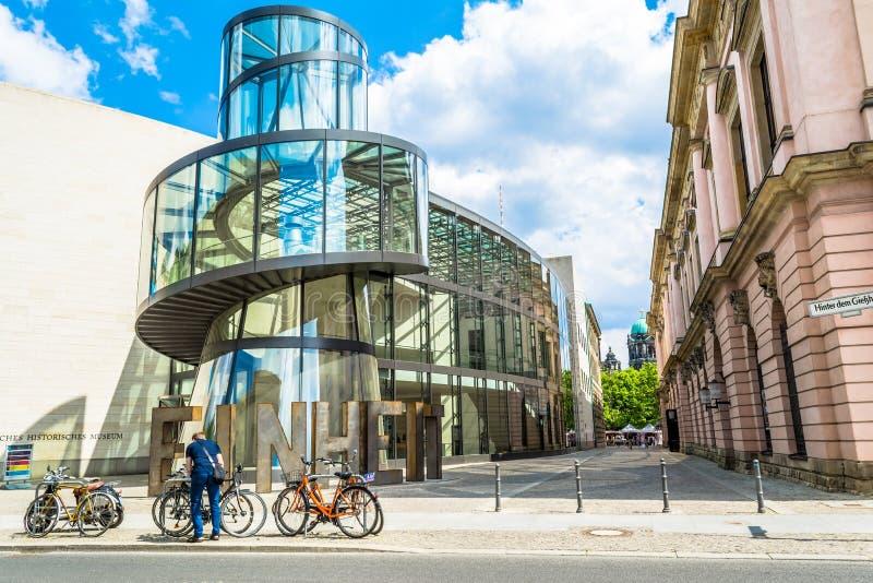 柏林,德国- 2015年5月25日:德国历史博物馆-德国的历史的博物馆 图库摄影