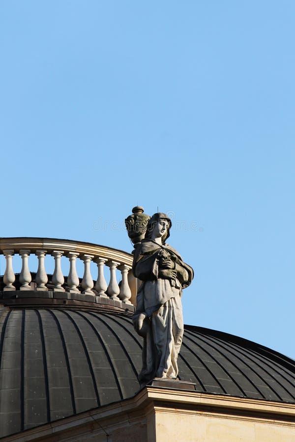 柏林, deutscher dom,新古典主义的建筑学 库存图片