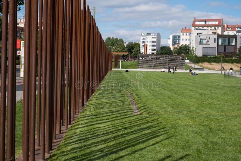 柏林围墙/柏林围墙纪念品的遗骸 库存照片