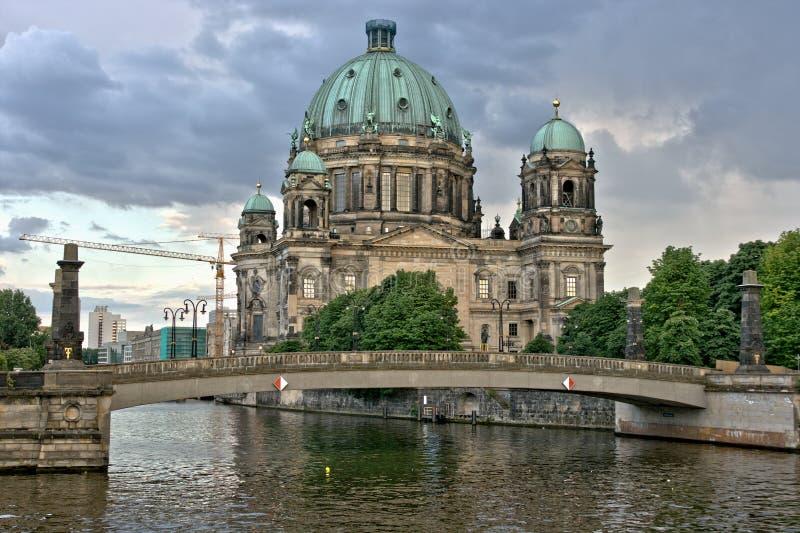 柏林cathedrale 免版税图库摄影