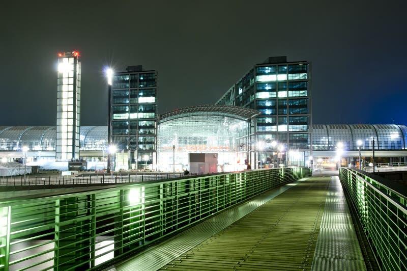 柏林Hauptbahnhof 免版税库存图片