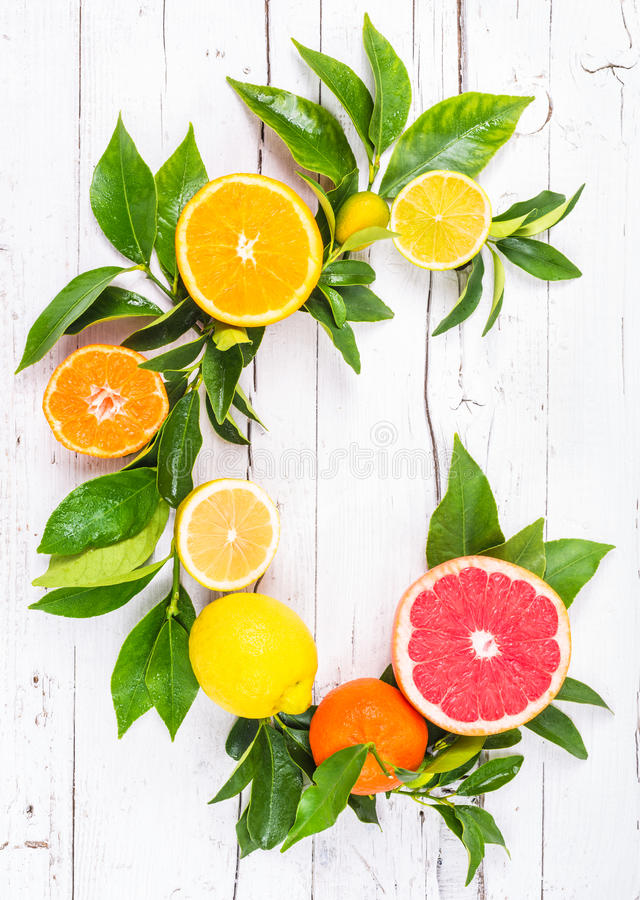 柑橘新鲜水果 库存照片