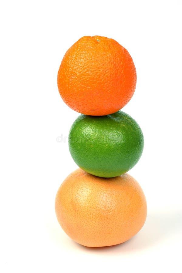 柑橘金字塔 库存图片