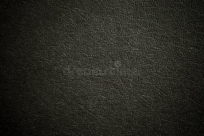 染黑皮革 免版税库存照片