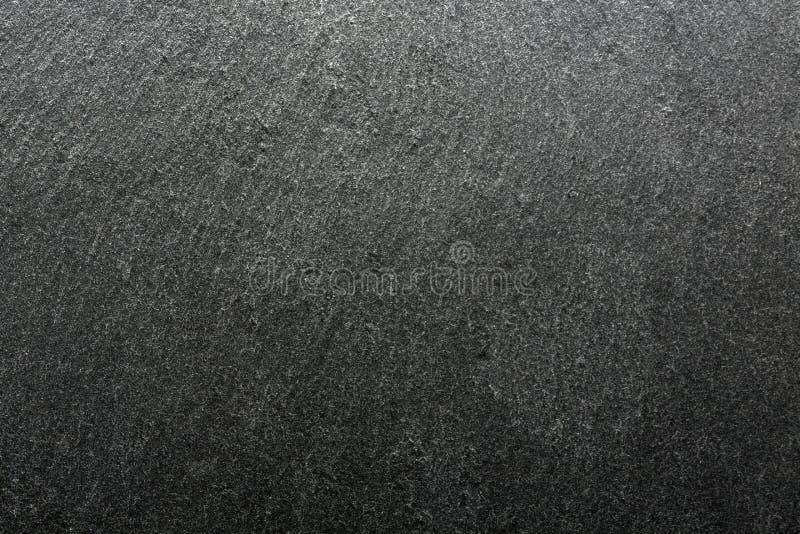 染黑石背景 自然板岩纹理 免版税库存图片