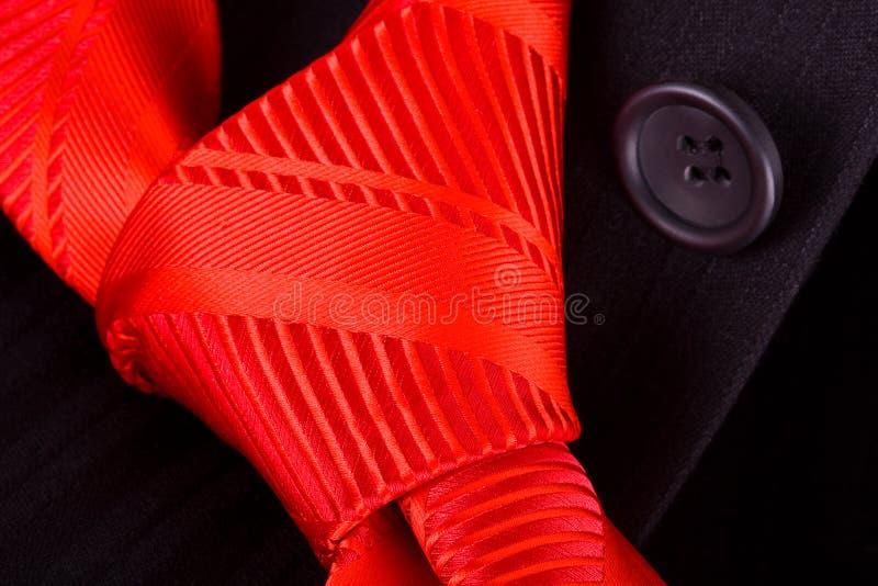 染黑红色诉讼关系 免版税库存图片