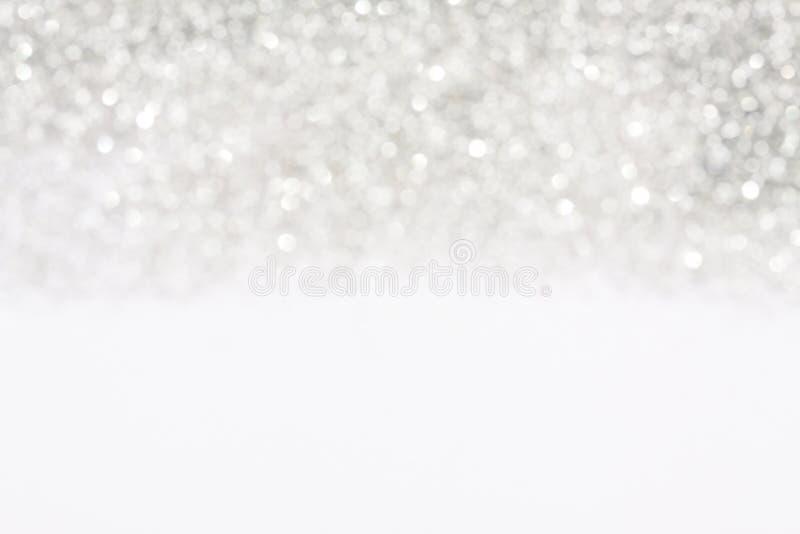 柔光银色背景 免版税库存图片