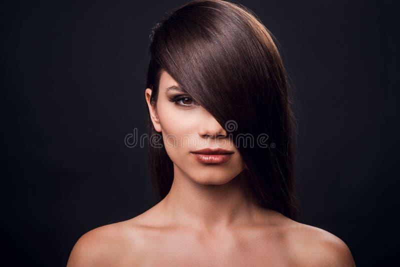 柔滑的头发 图库摄影