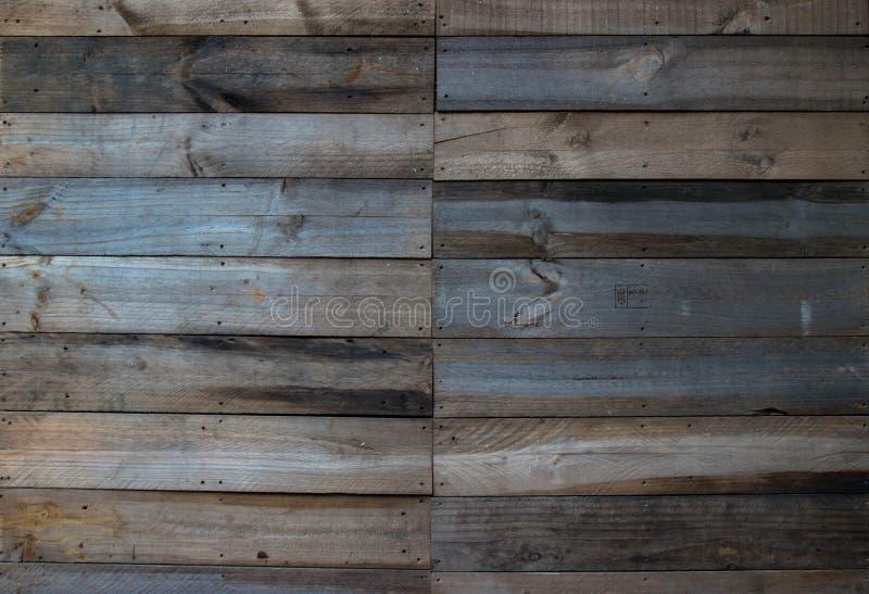 柚木树木墙壁纹理 免版税库存照片