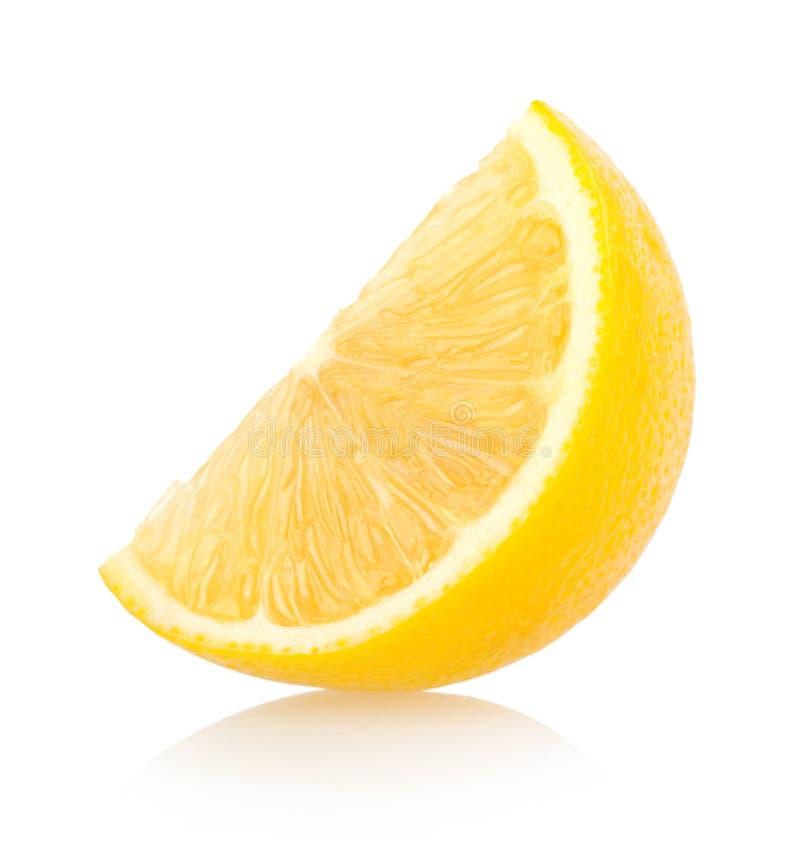 柠檬切片 库存图片