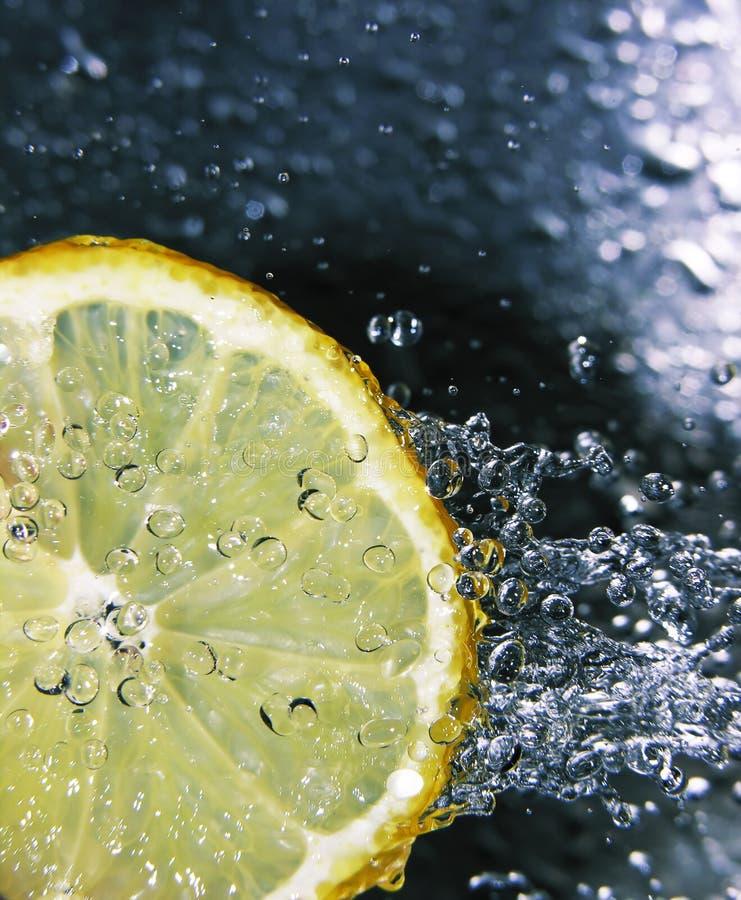 柠檬刷新 免版税图库摄影