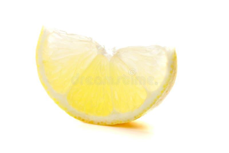 柠檬成熟部分 免版税库存照片