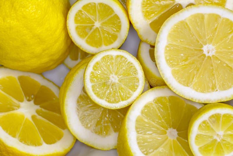 柠檬挤压 免版税库存图片