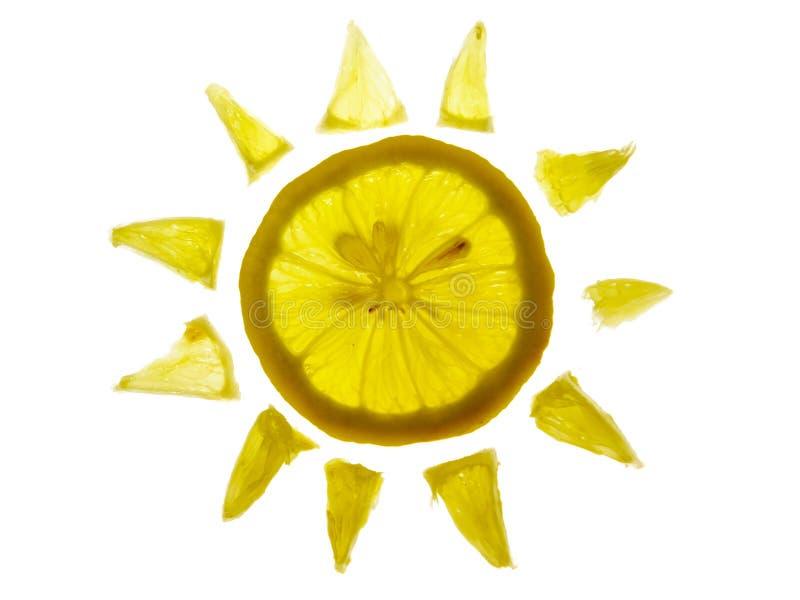 柠檬星期日 免版税库存图片