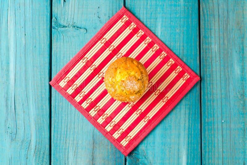 柠檬松饼 免版税库存照片