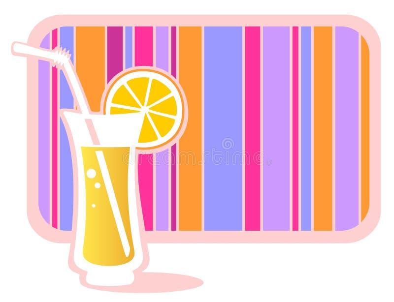 柠檬水 向量例证