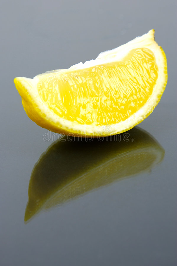 柠檬片式 图库摄影