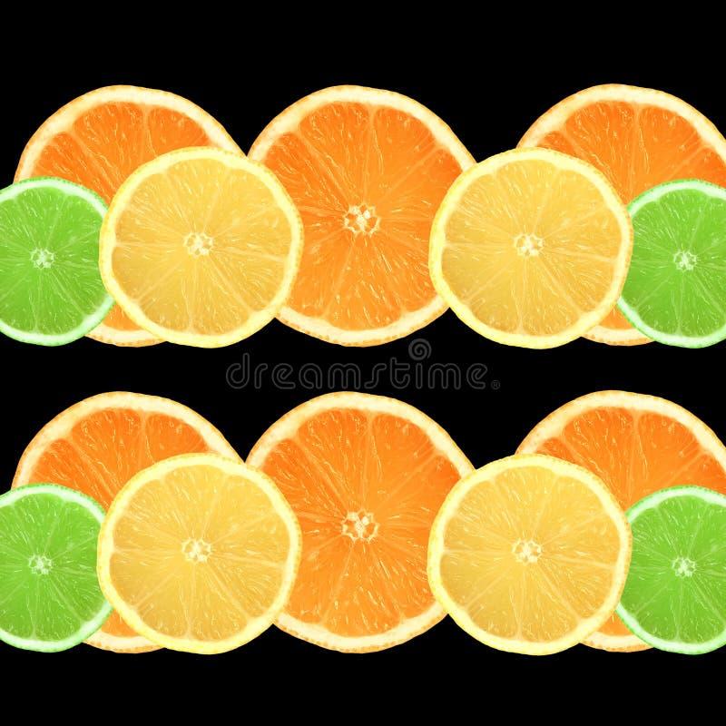 柠檬石灰桔子 库存图片