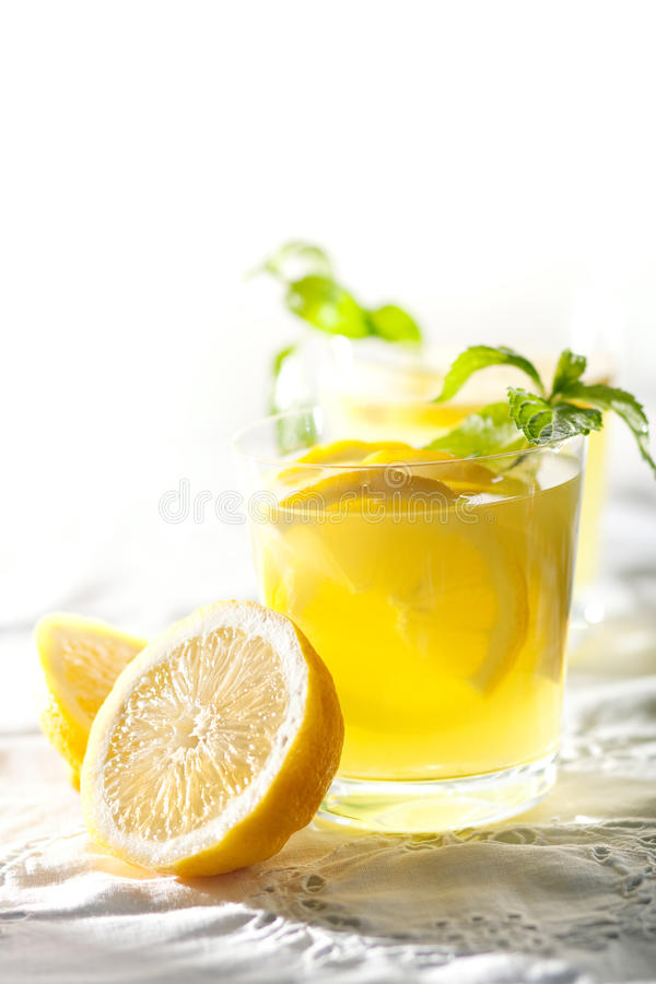 柠檬震动 库存照片