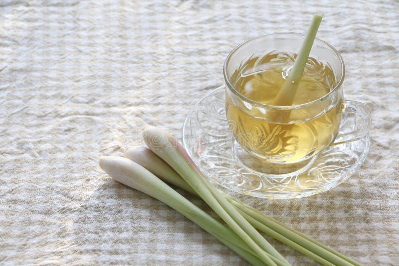 柠檬香茅茶 图库摄影