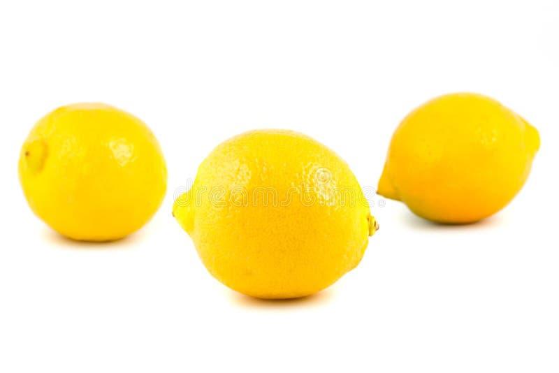 柠檬黄色 库存照片