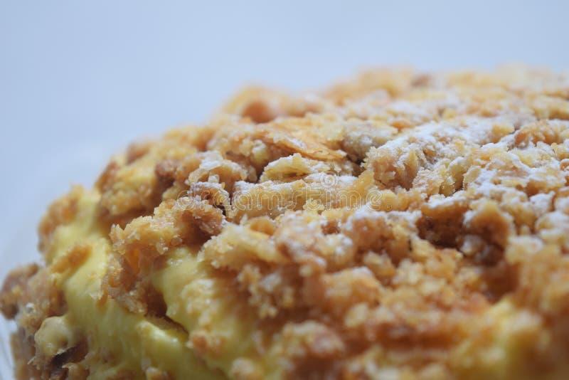 柠檬merengue蛋糕2 免版税库存图片