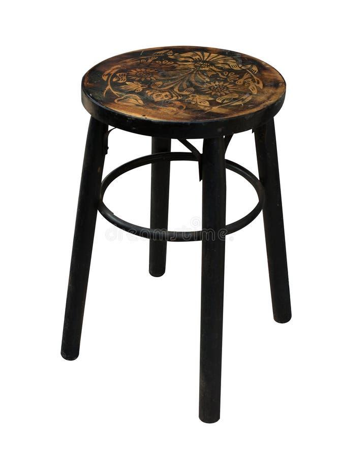 查出的中国木椅子 库存图片