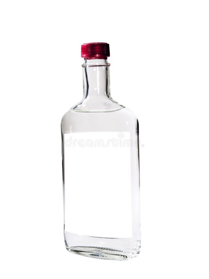 查出的伏特加酒 库存照片