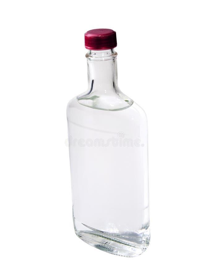 查出的伏特加酒 免版税图库摄影