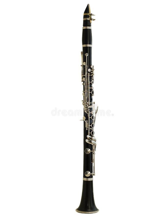 查出的单簧管 图库摄影