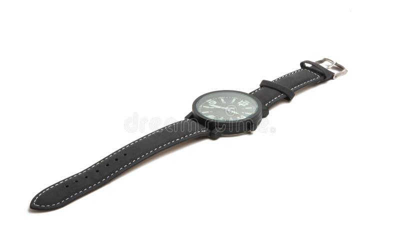 查出的手表 免版税库存照片