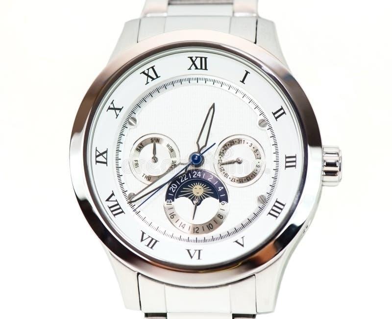 查出的手表 免版税图库摄影