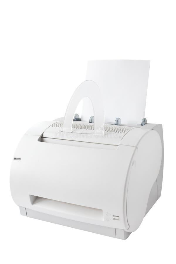 查出的打印机 免版税库存图片
