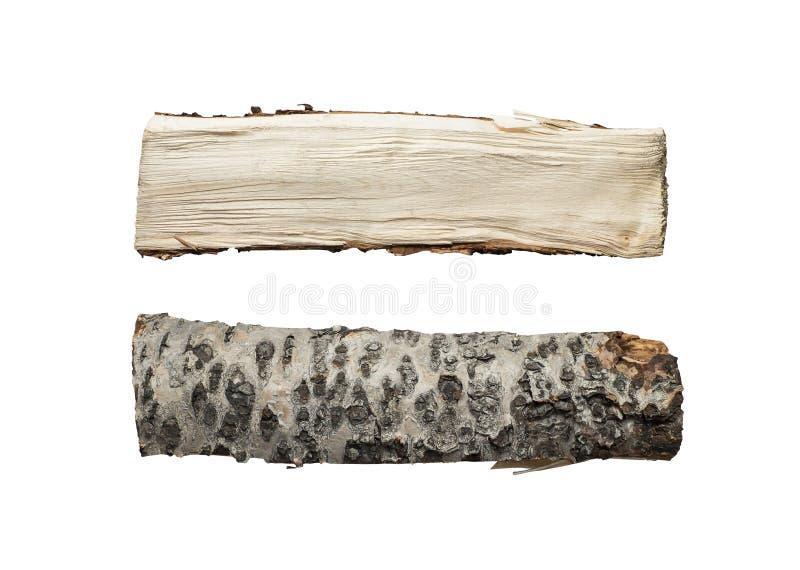 查出的木柴 库存图片