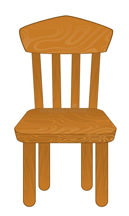 查出的椅子 皇族释放例证
