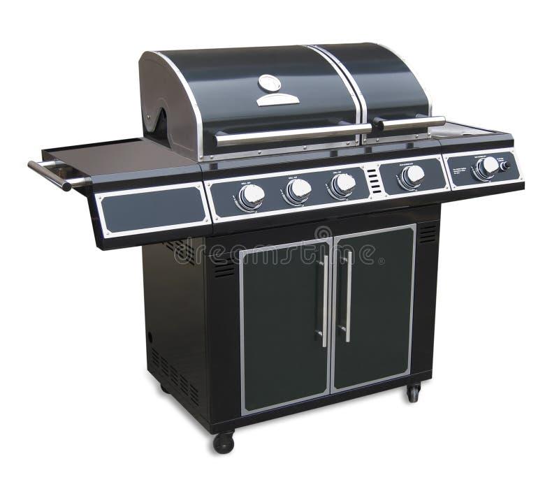 查出的烤肉格栅 库存照片
