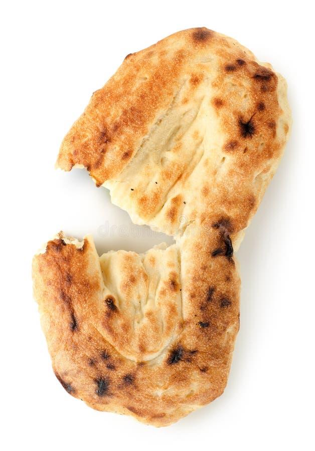 查出的皮塔饼面包 库存照片