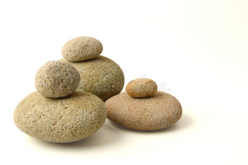 查出的石头 库存照片