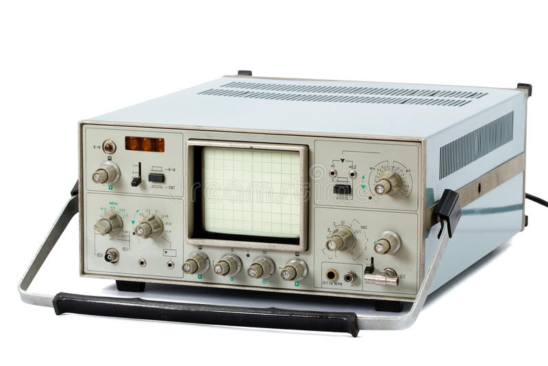 查出的示波器 图库摄影